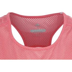 adidas Response - Camiseta sin mangas running Mujer - rojo